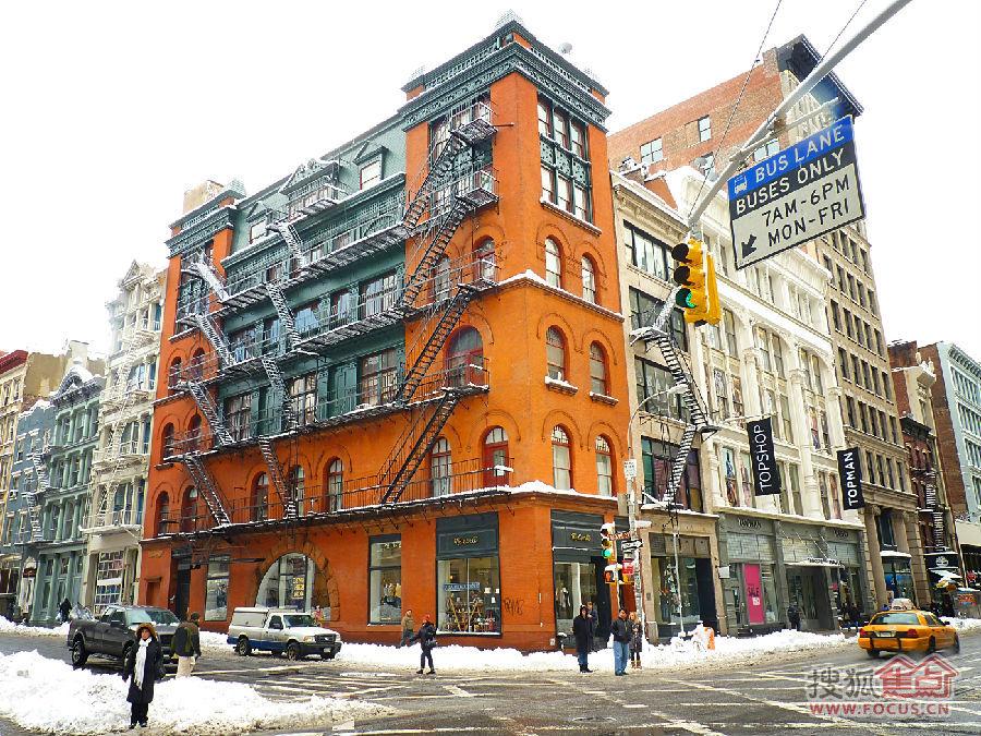 欧美范男生头像  纽约街道