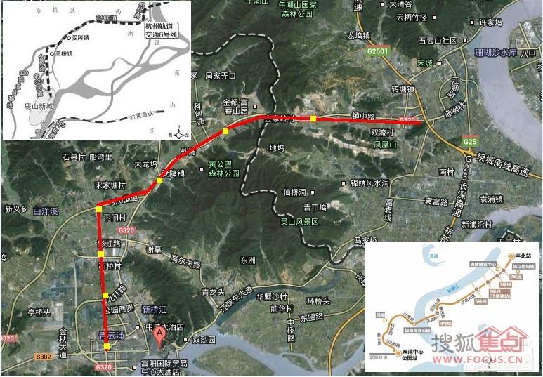 富阳,临安毗邻杭州市区,很多人上班居住来往两地,都盼着快点建成