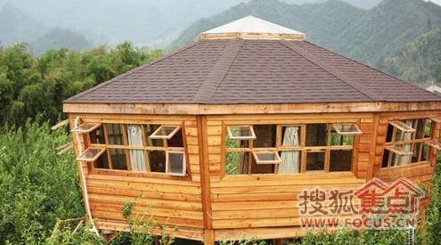 1的小木屋在临安,格调不错太商业化