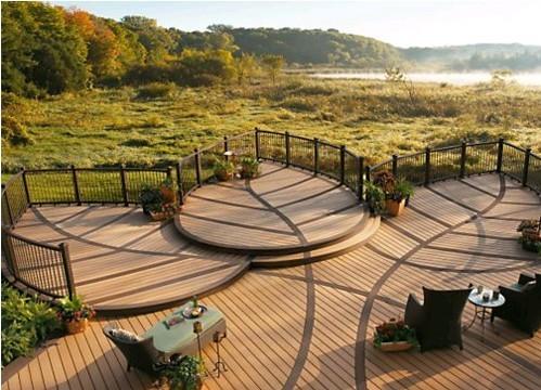 木纹生态木地板的材质优势