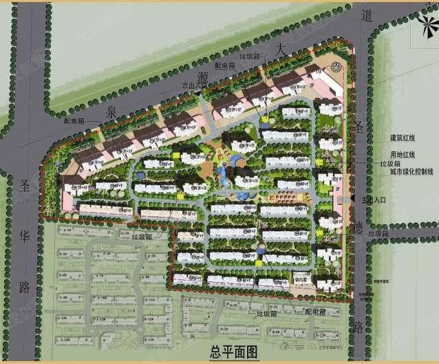 泗水最新城区规划图