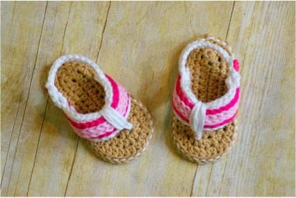 针织宝宝鞋,好可爱哦