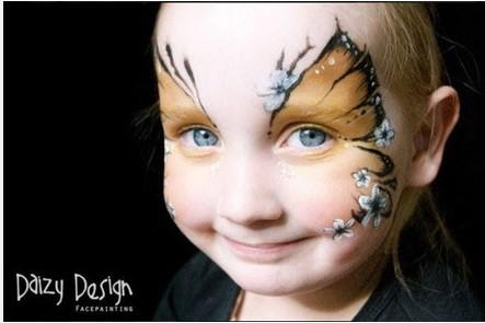 创意人体彩绘,可爱的小动物妆!