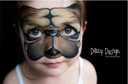 Cool Cat Face Painting