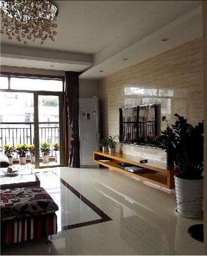 精装顶楼现代复式公寓,四口之家装修效果图!图片