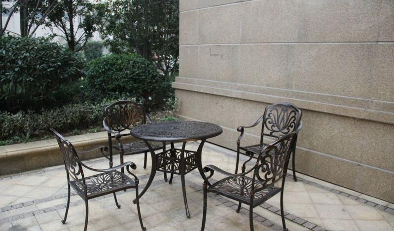 花园椅子简笔画
