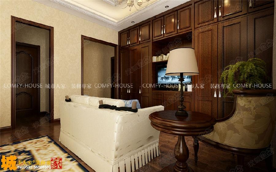 碧桂园凤凰城欧式风格装修效果图图片
