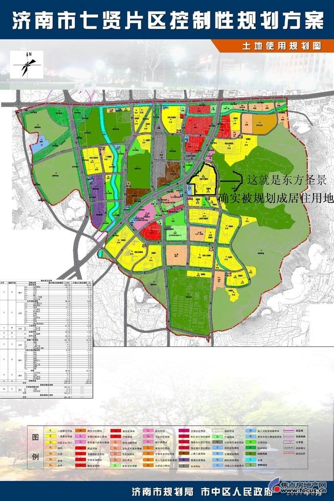 图:七贤片区规划图
