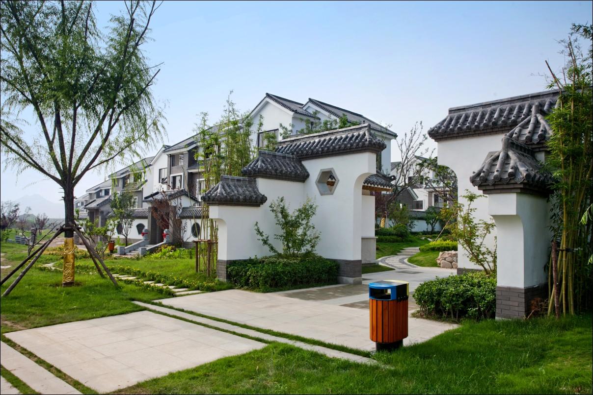 从传统中式院落与建筑风格中获取灵感,重塑中国宅门文化的居住精髓.图片