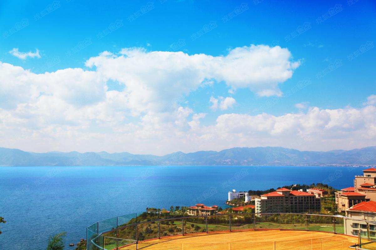 太阳山国际生态旅游养生休闲度假区实景图