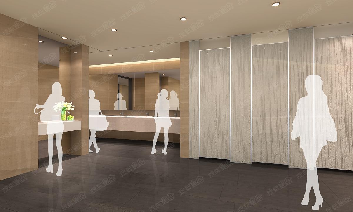 螺蛳湾中心商场卫生间效果图图片