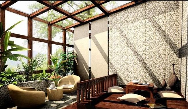 巧妙的露台阳光房设计