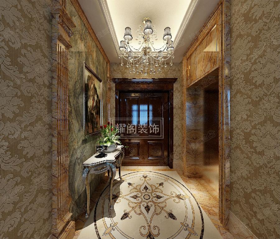 【耀●原创】典雅美式风格别墅装修案例图片