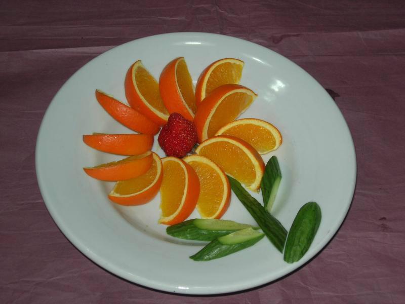 创意水果拼盘 很简单又漂亮
