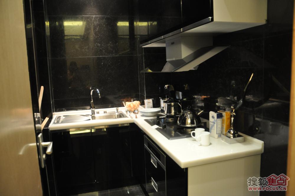东盟森林84㎡户型样板房 厨房 -东盟森林楼盘样板间高清图片
