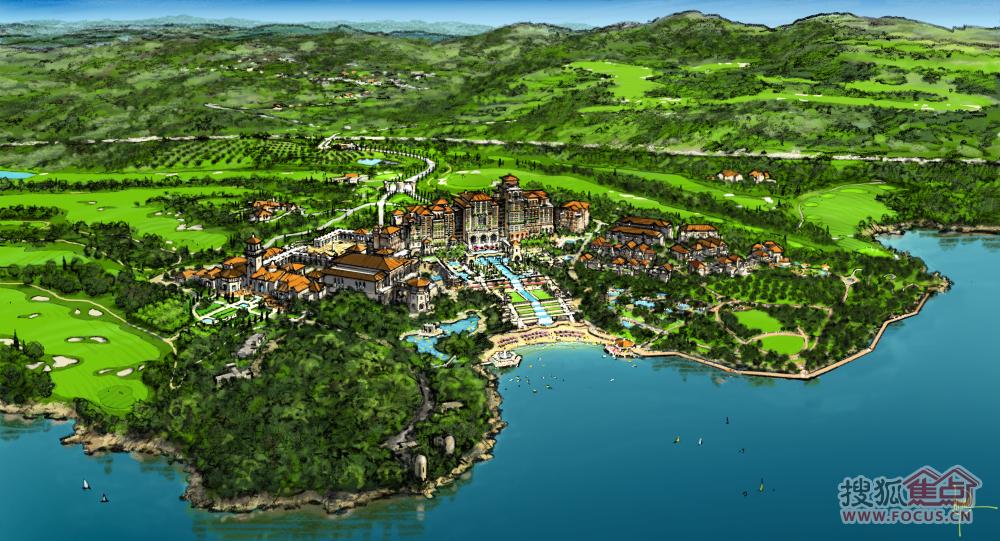 生态养生乡村旅游度假区规划设计