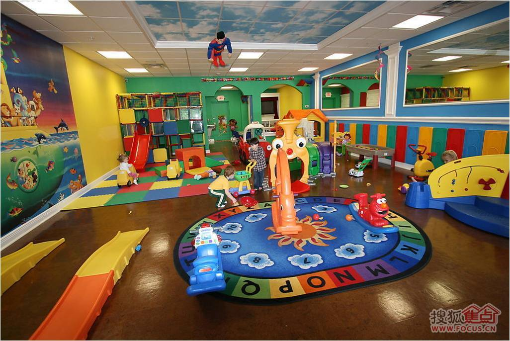 强势品质之五:国际幼儿园12班超高标准配置·现房全球发售