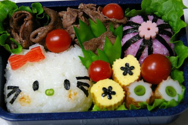日本可爱便当图 美食达人
