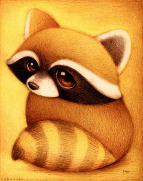 萌萌哒小动物有双水汪汪的大眼睛,肿么办,小编已经被融化了呢