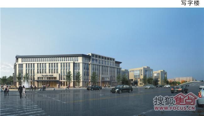 万嘉和城市广场效果图 兰州万嘉和城市广场项目西临中川国际机场,北