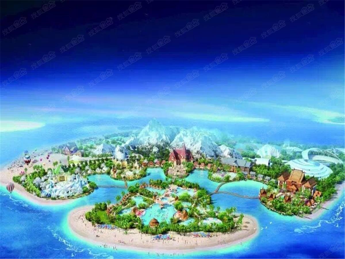 中国海南海花岛度假区效果图-兰州搜狐焦点网