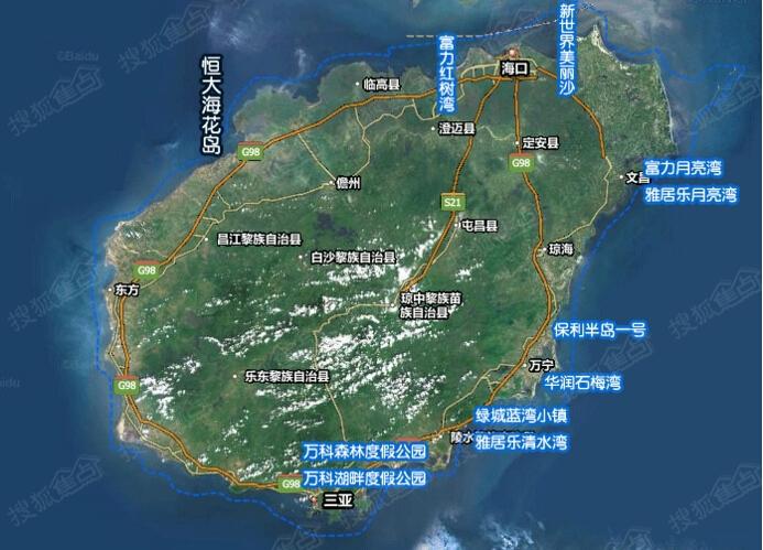 中国红树林分布