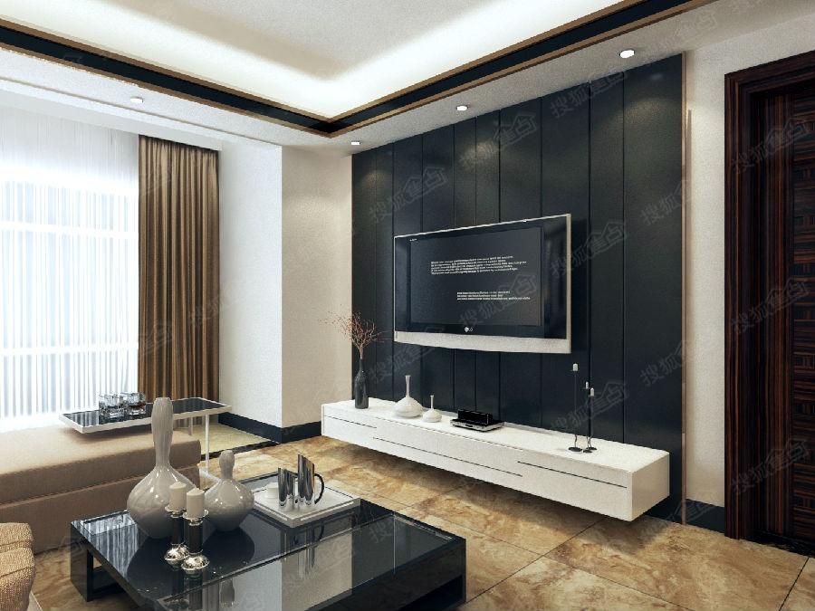电视背景墙,软包开板可以不规则尺寸,这里没必要完美对称.