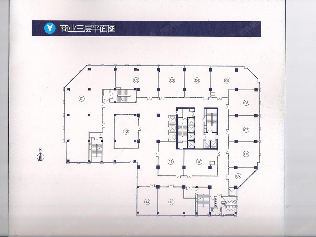 兰州soho商业三层平面图