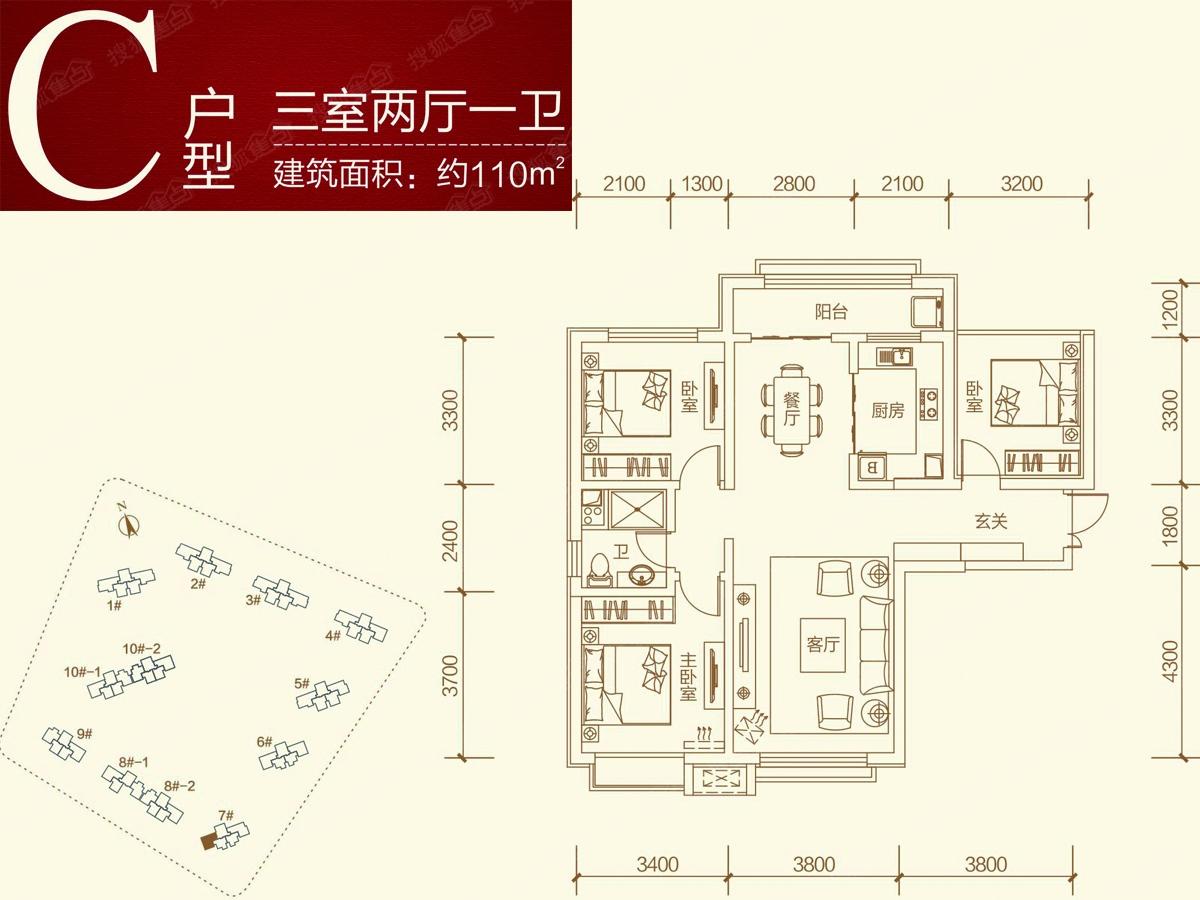 中国海南海花岛三居室c_中国海南海花岛户型图-兰州