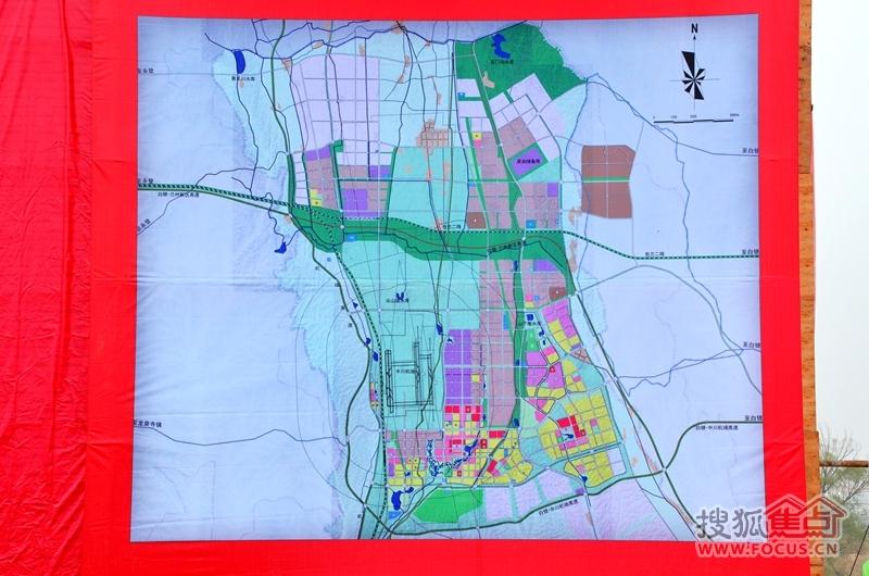跨越v别墅奠基兰州别墅河谷金融城盛大再造长城智慧绿地图片