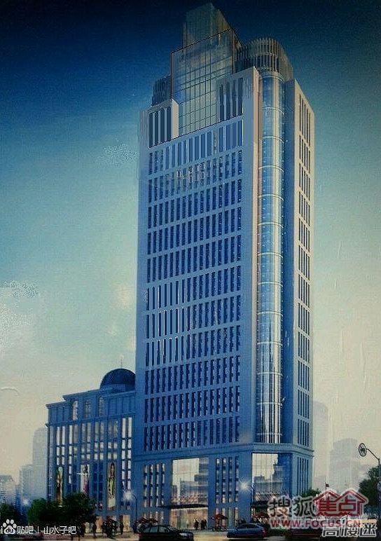 189.8米 45层兰州天宝时代广场建设纪实 效果图发布高清图片
