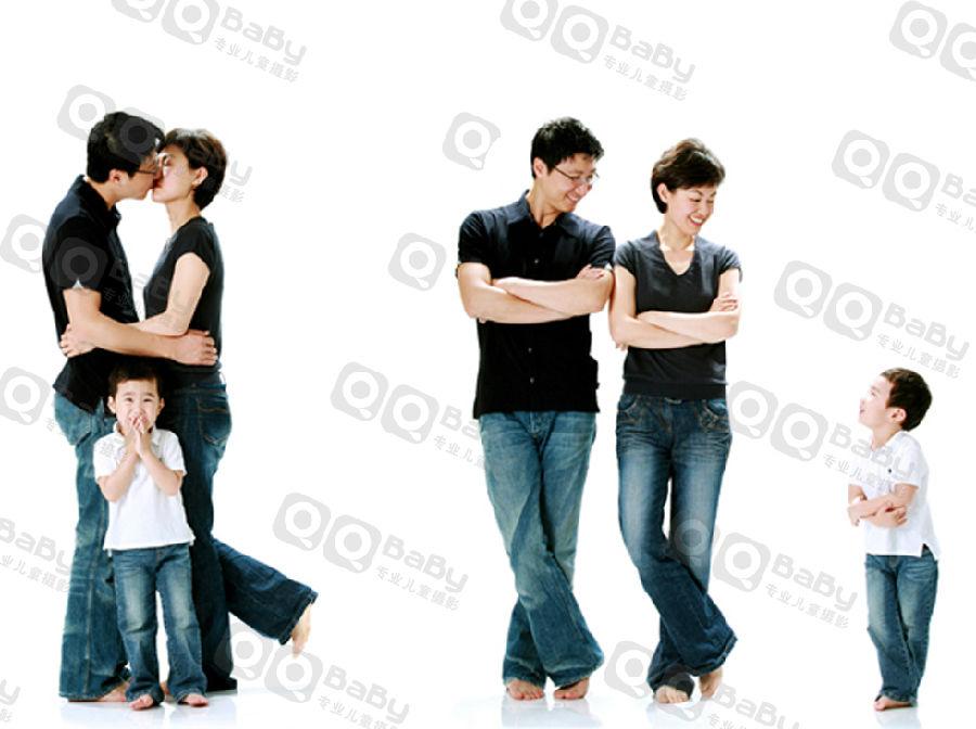 ... 福艺术照全家福艺术照背景 3口全家福艺术照图片