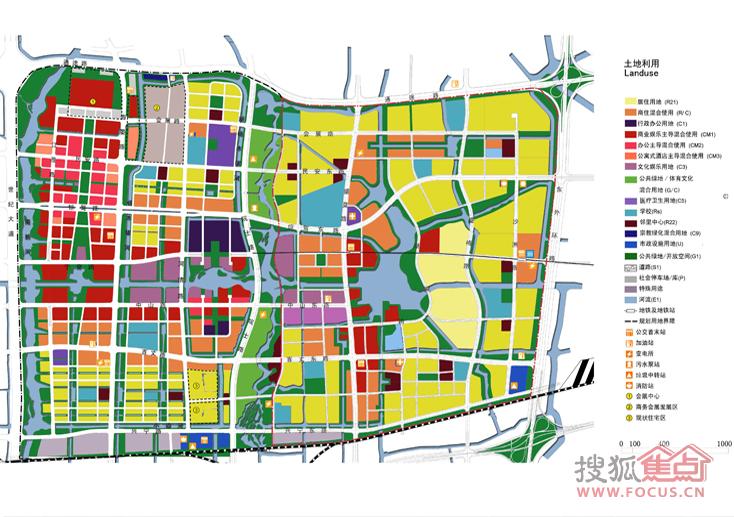 东部新城总规划图 共享下