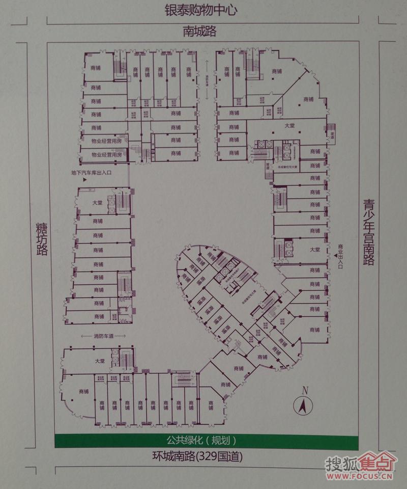 泰悦公寓平面图