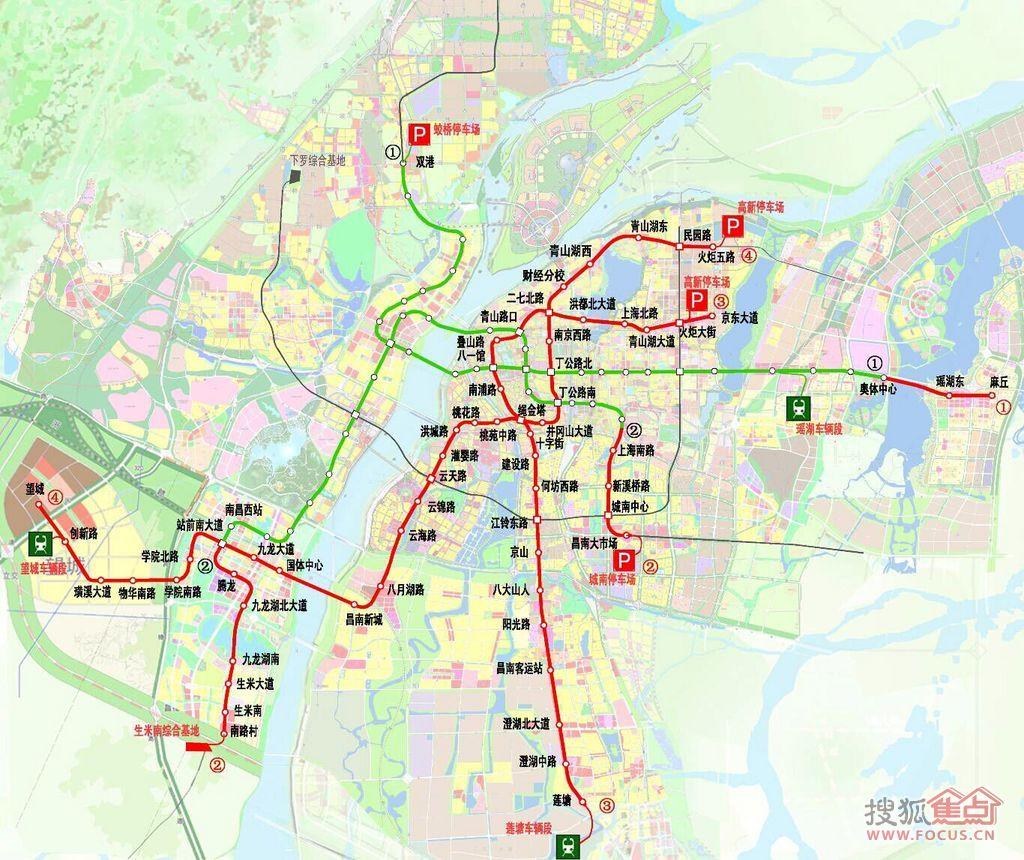 关于北京地铁4号线和大兴线的终点站图片