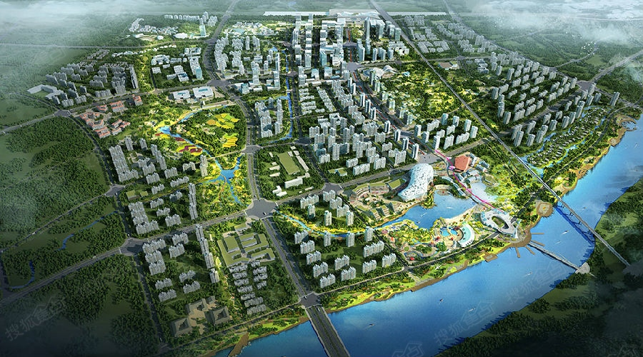 东方市新城区规划图