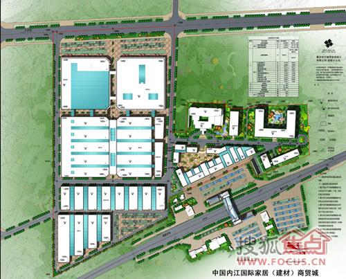 商贸城项目引进沿海先进商业模式,打造为川南顶级一站式家居综合体,集