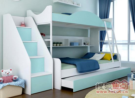 上下铺儿童卧室装修效果图