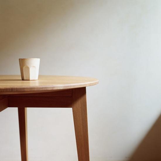 日系风格实木家具 原木色的小清新魅力(组图)
