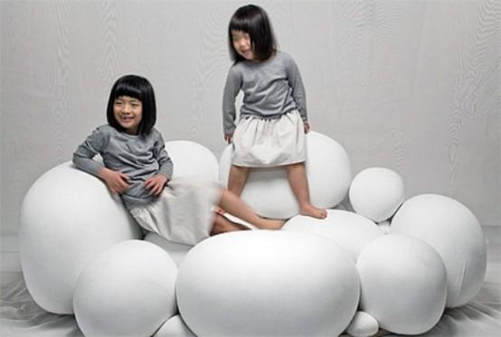 可爱万能棉花糖沙发 让您云端漫步