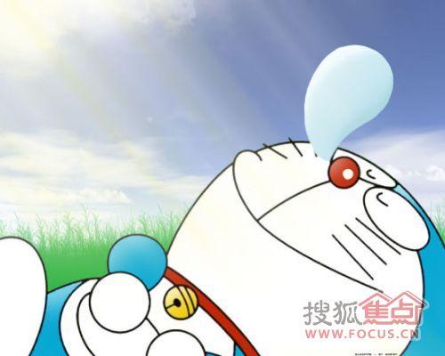 哆啦A梦 穿越机器猫空降万成曼哈顿售楼处图片