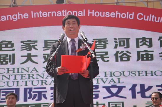 中国家具协会理事长朱长岭