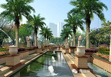 近28000﹐罕见园林景观;衡阳稀有板式建筑设计,挑高架空层连廊,人车