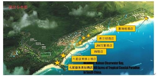 清水湾项目总体规划图