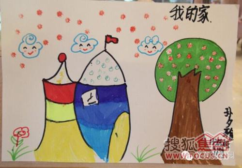 """""""我未来的家""""儿童主题绘画活动,逾百人报名参加,小朋友们纷纷发挥"""