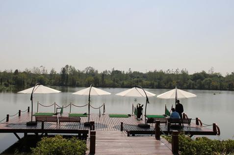 碧桂园生态城水上高尔夫
