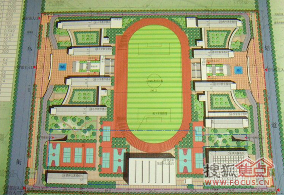 湖海塘九年一贯制学校设计方案出炉 明年招生