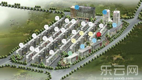 滇中产业园区鸟瞰图