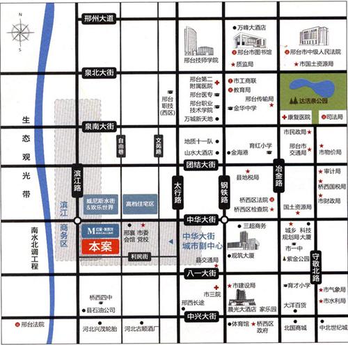 丰基理想城市 赋予邢台现代化都市特征 高清图片