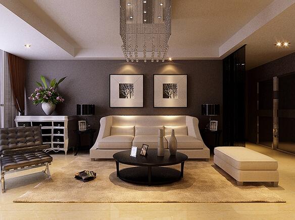 独特欧式风格 黑白灰三元素尽显奢华